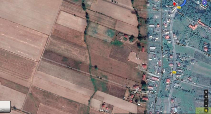 Działka rolna na sprzedaż Zielona Góra, Zatonie-Różana  26987m2 Foto 4