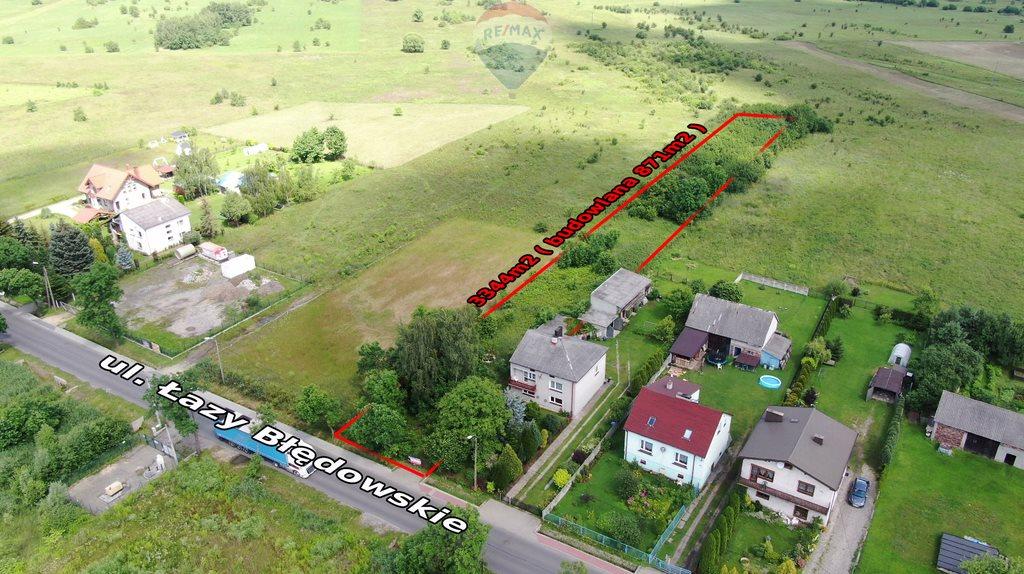 Działka budowlana na sprzedaż Dąbrowa Górnicza, Łazy Błędowskie  3344m2 Foto 1