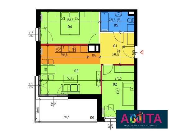 Mieszkanie trzypokojowe na sprzedaż Warszawa, Wawer, Rezedowa  58m2 Foto 2