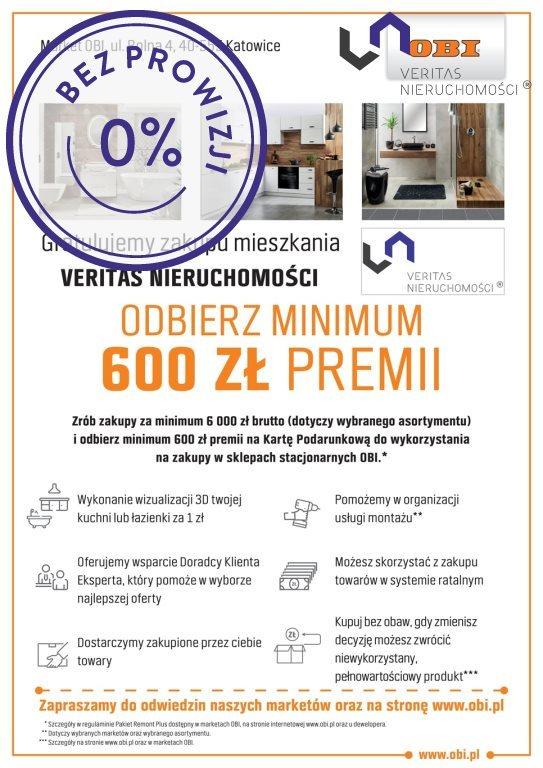 Mieszkanie trzypokojowe na sprzedaż Katowice, Śródmieście, Opolska  66m2 Foto 6