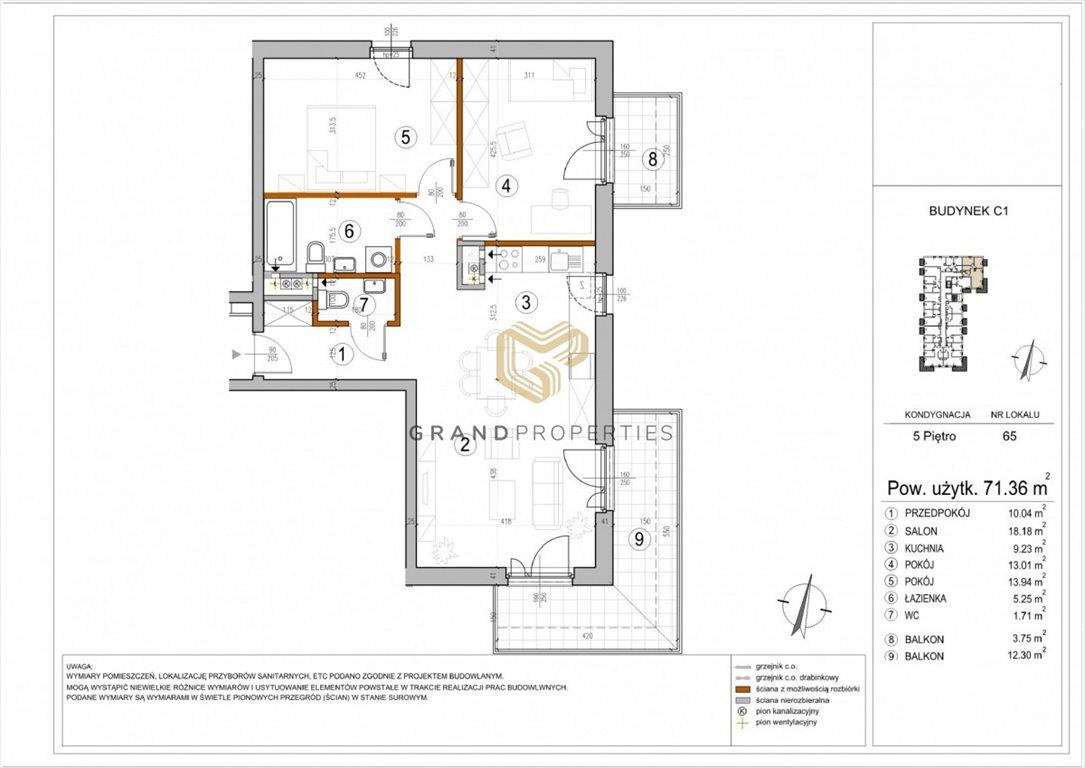 Mieszkanie trzypokojowe na sprzedaż Warszawa, Rembertów, Chełmżyńska  71m2 Foto 1