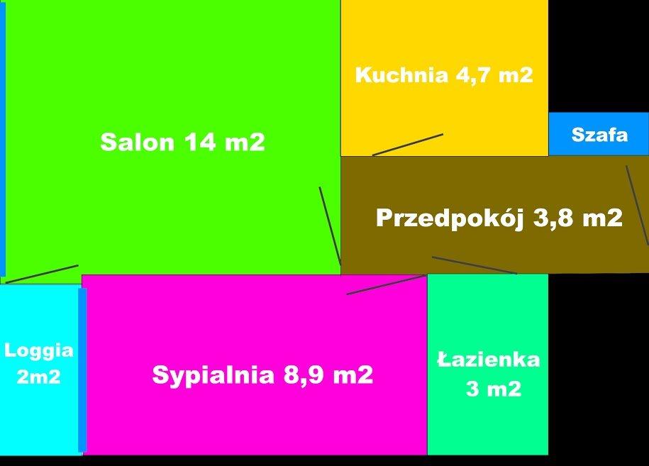 Mieszkanie dwupokojowe na sprzedaż Warszawa, Śródmieście, Zgoda  37m2 Foto 2