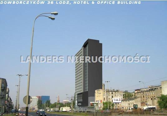 Działka budowlana na sprzedaż Łódź, Dowborczyków  1356m2 Foto 1