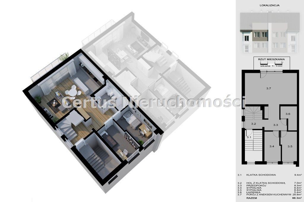 Mieszkanie trzypokojowe na sprzedaż RZESZÓW, Budziwój  130m2 Foto 2