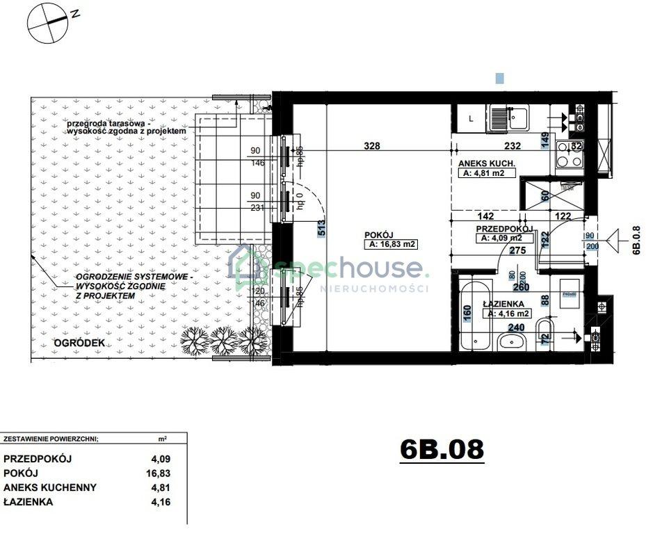 Mieszkanie dwupokojowe na sprzedaż Poznań, Podolany, Podolany, Druskiennicka  30m2 Foto 2