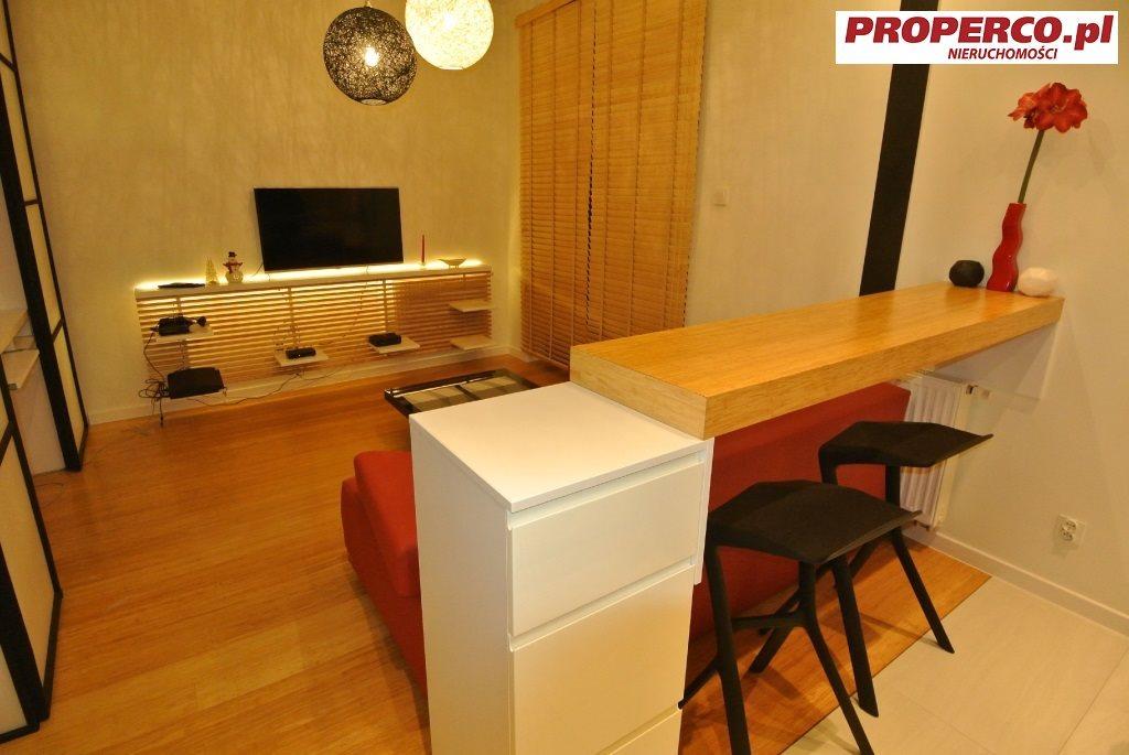 Mieszkanie dwupokojowe na wynajem Kielce, Centrum, Chęcińska  39m2 Foto 3