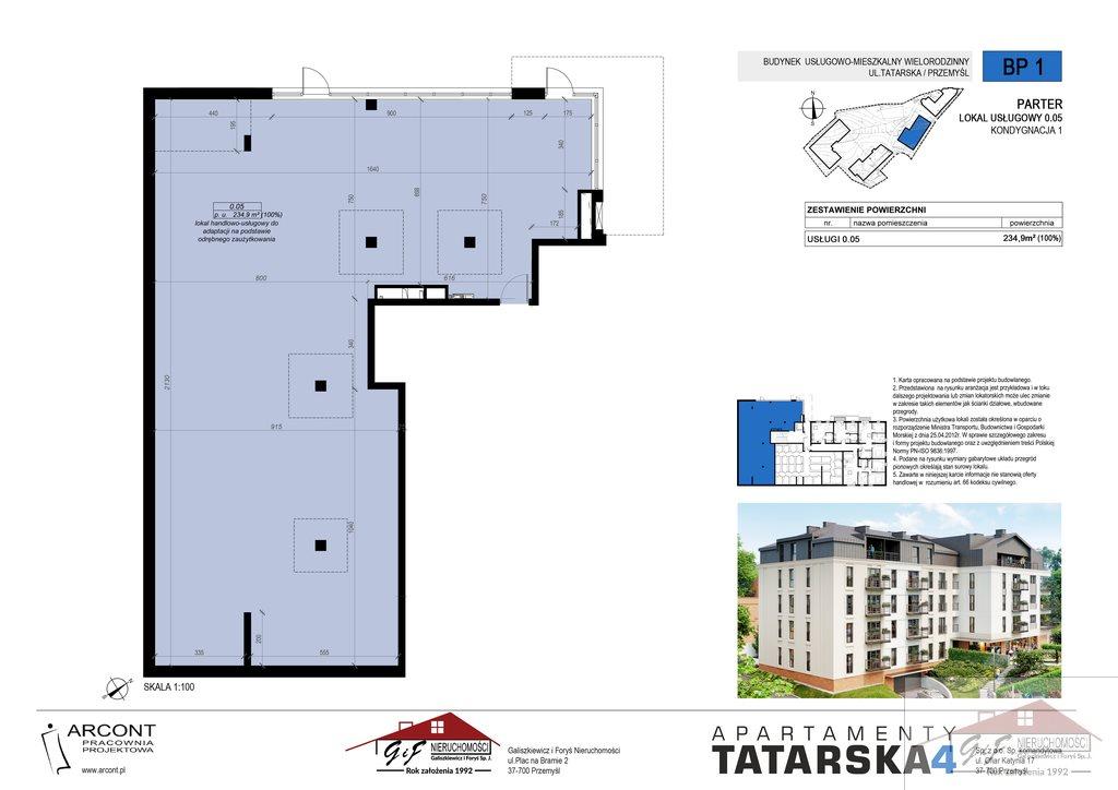 Lokal użytkowy na sprzedaż Przemyśl, Tatarska  235m2 Foto 4