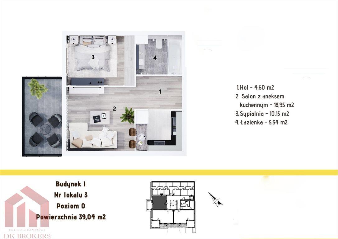Mieszkanie dwupokojowe na sprzedaż Rzeszów, Staroniwa, Staroniwska  39m2 Foto 2