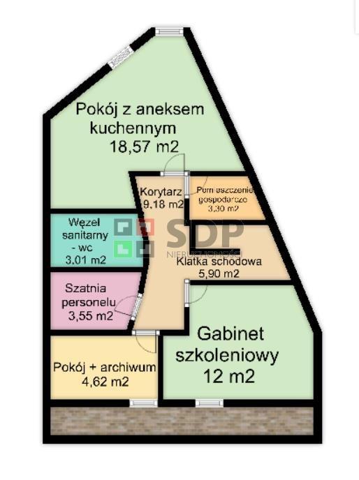 Lokal użytkowy na sprzedaż Wrocław, Krzyki, Wojszyce, Pawia  149m2 Foto 11