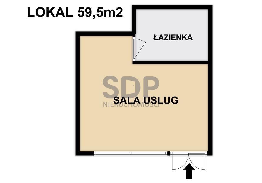 Lokal użytkowy na sprzedaż Wrocław, Krzyki, Klecina, Wałbrzyska  60m2 Foto 6