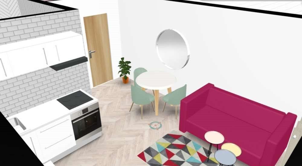 Mieszkanie dwupokojowe na sprzedaż Bydgoszcz, Śródmieście  28m2 Foto 1