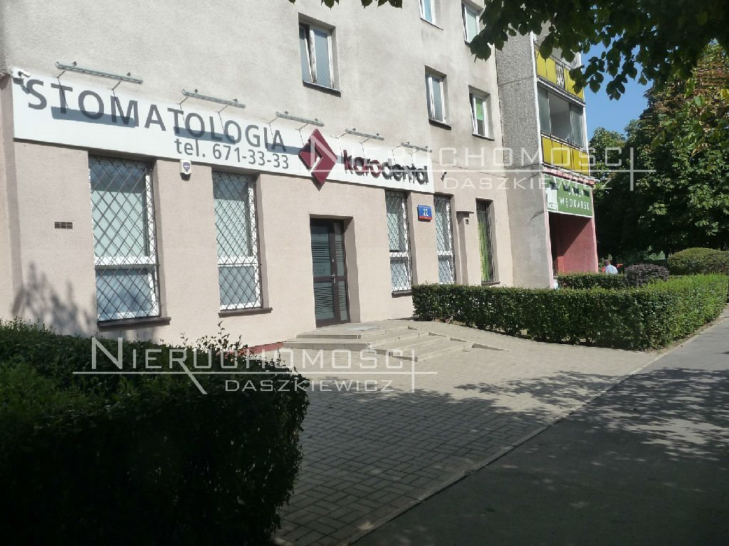 Lokal użytkowy na wynajem Warszawa, Praga-Południe, Gocław, gen. Tadeusza Bora-Komorowskiego  19m2 Foto 1
