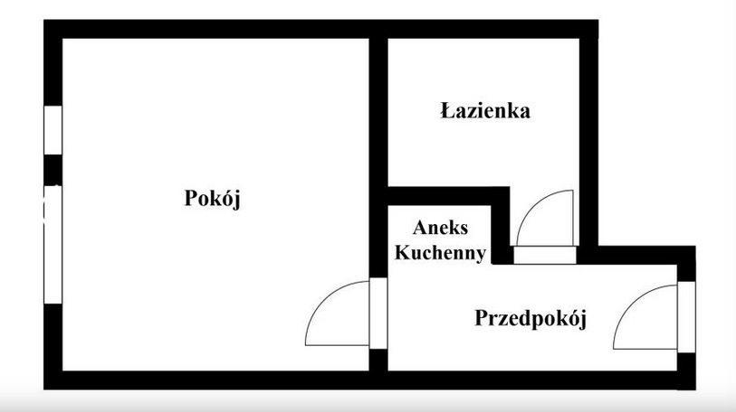Kawalerka na sprzedaż Kraków, Bronowice, Bronowice, Bronowicka  20m2 Foto 6