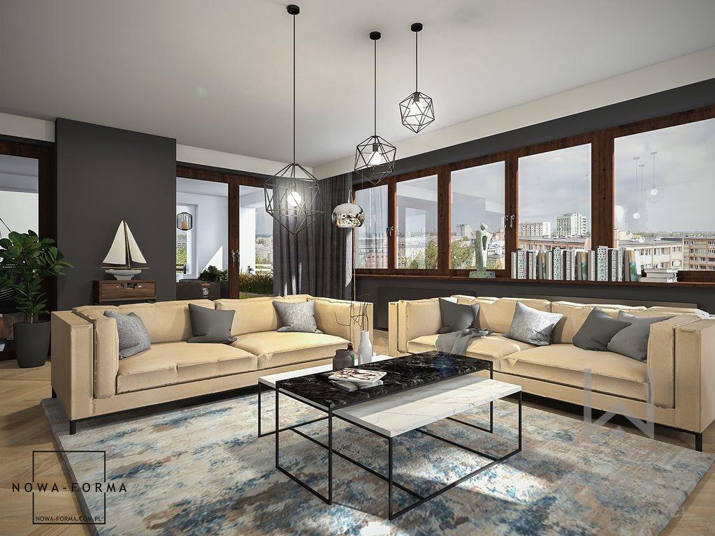 Luksusowe mieszkanie na sprzedaż Warszawa, Śródmieście, Leona Kruczkowskiego  209m2 Foto 1