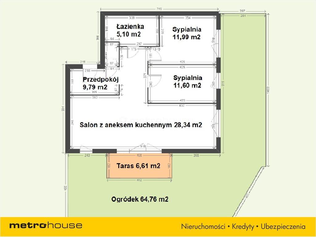 Mieszkanie czteropokojowe  na sprzedaż Katowice, Muchowiec, Francuska  71m2 Foto 13