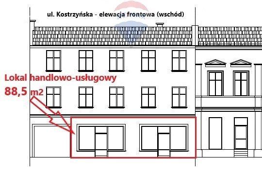 Lokal użytkowy na sprzedaż Pobiedziska, Kostrzyńska  89m2 Foto 1
