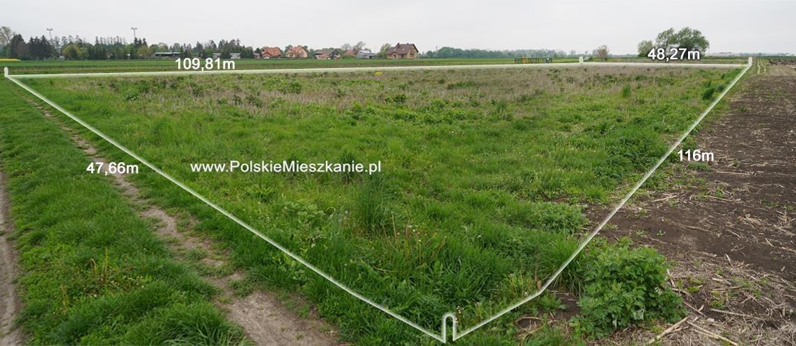 Działka rolna na sprzedaż Przemyśl, Krówniki  5500m2 Foto 11