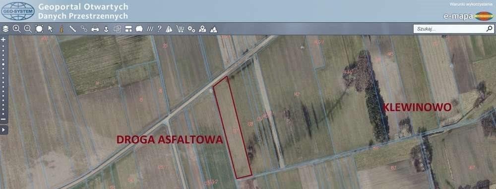 Działka rolna na sprzedaż Klewinowo  8100m2 Foto 2