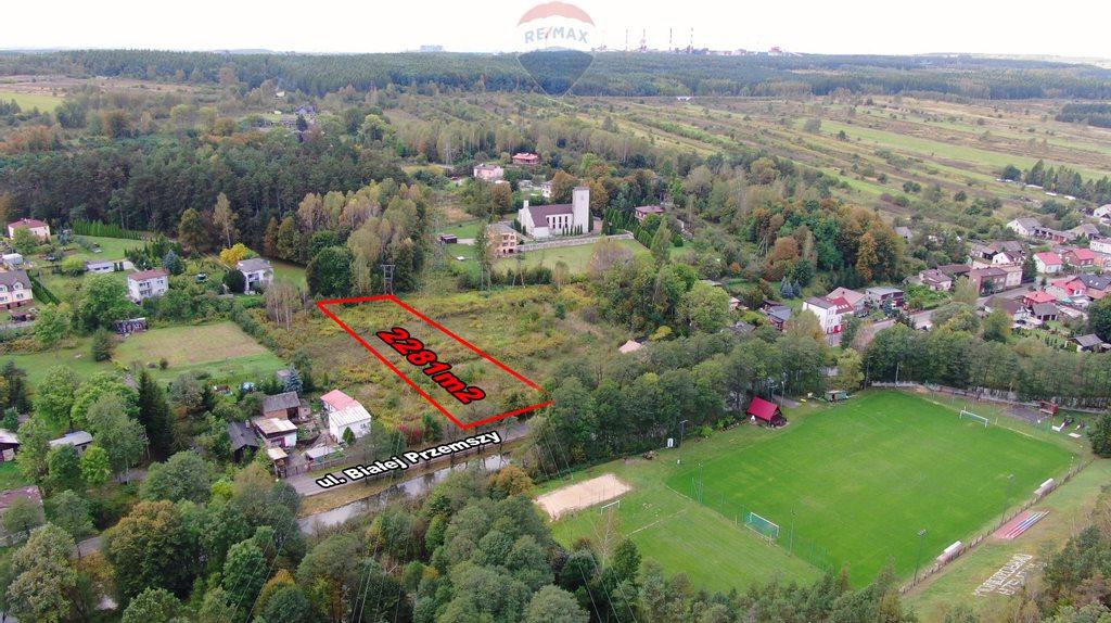 Działka budowlana na sprzedaż Dąbrowa Górnicza, Okradzionów, Białej Przemszy  2281m2 Foto 11