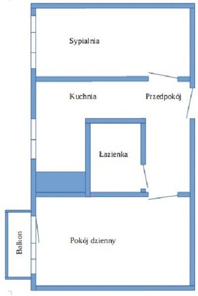Mieszkanie dwupokojowe na sprzedaż Luboń  48m2 Foto 10