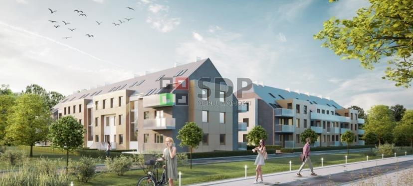 Mieszkanie dwupokojowe na sprzedaż Wrocław, Fabryczna, Maślice, ok. Królewieckiej  55m2 Foto 1