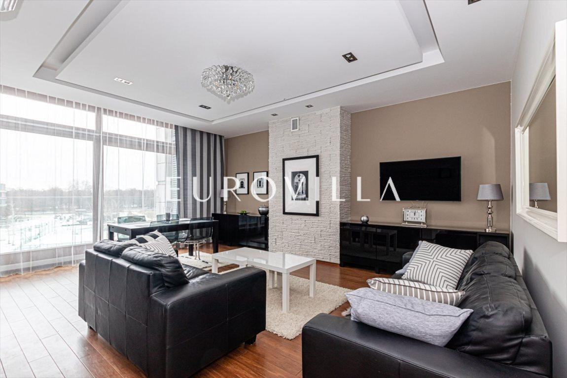Mieszkanie trzypokojowe na wynajem Warszawa, Wilanów, Franciszka Klimczaka  101m2 Foto 1