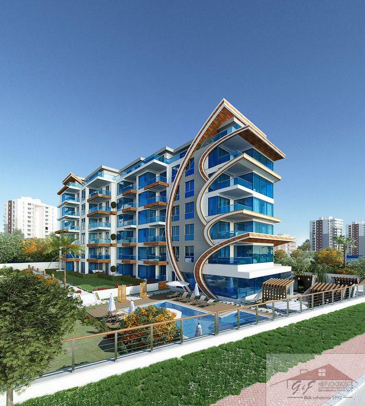 Mieszkanie dwupokojowe na sprzedaż Turcja, Alanya - Kestel, Alanya - Kestel  76m2 Foto 3