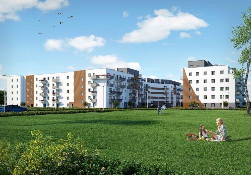 Mieszkanie trzypokojowe na sprzedaż Poznań, Malta, abpa Walentego Dymka  52m2 Foto 2