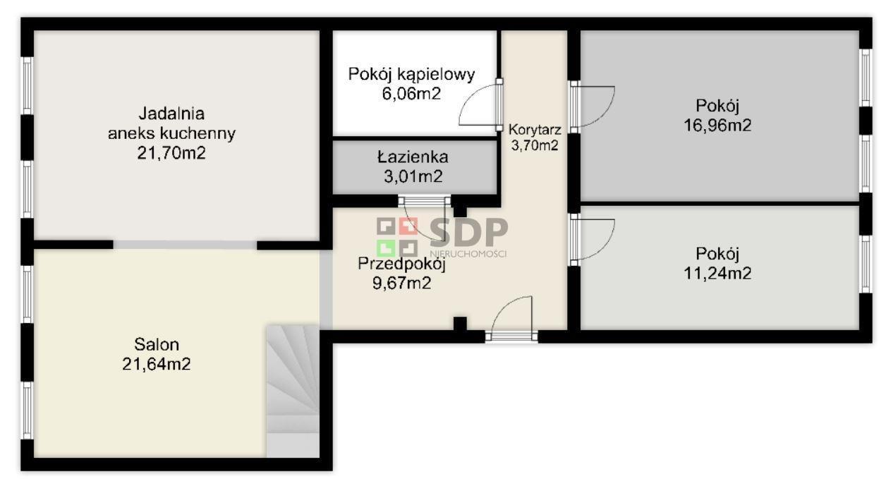 Mieszkanie czteropokojowe  na sprzedaż Wrocław, Stare Miasto, Przedmieście Oławskie, Zygmunta Krasińskiego  113m2 Foto 7