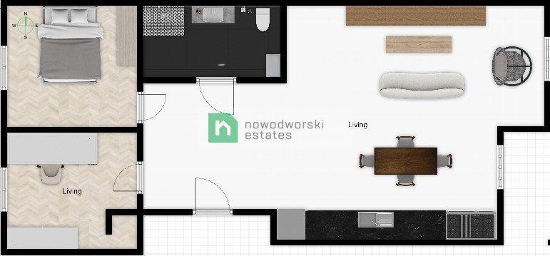 Mieszkanie trzypokojowe na sprzedaż Gliwice, Śródmieście, Jasnogórska  65m2 Foto 10