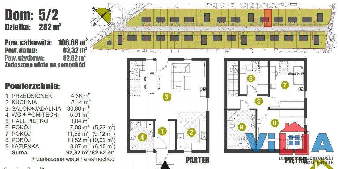 Dom na sprzedaż Zielona Góra, Racula  106m2 Foto 2
