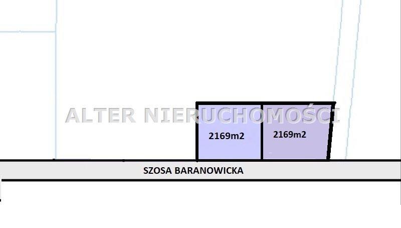 Działka inwestycyjna na sprzedaż Grabówka  2169m2 Foto 1
