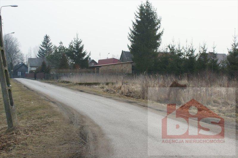 Działka budowlana na sprzedaż Białystok, Juchnowiec Kościelny  1029m2 Foto 1