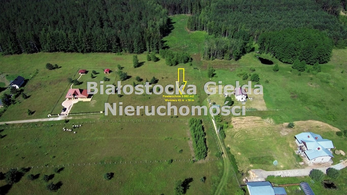 Działka budowlana na sprzedaż GRÓDEK, PRZECHODY  3082m2 Foto 2