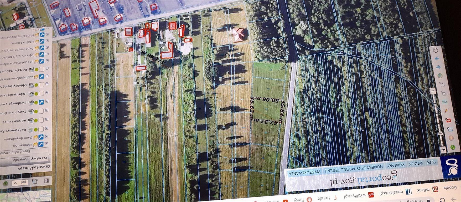 Działka budowlana na sprzedaż Augustówka, gm. Osieck, otwocki powiat, Kołbielska  1738m2 Foto 1