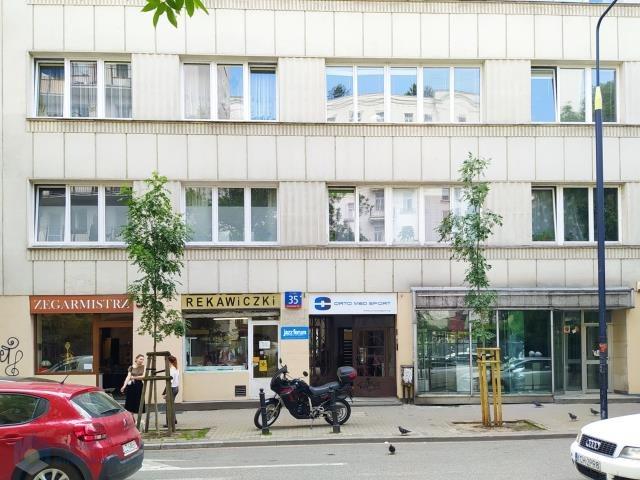 Lokal użytkowy na wynajem Warszawa, Śródmieście, Centrum, Hoża  48m2 Foto 2