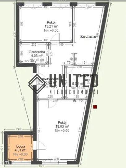 Mieszkanie dwupokojowe na sprzedaż Wrocław, Śródmieście, prusa  63m2 Foto 11