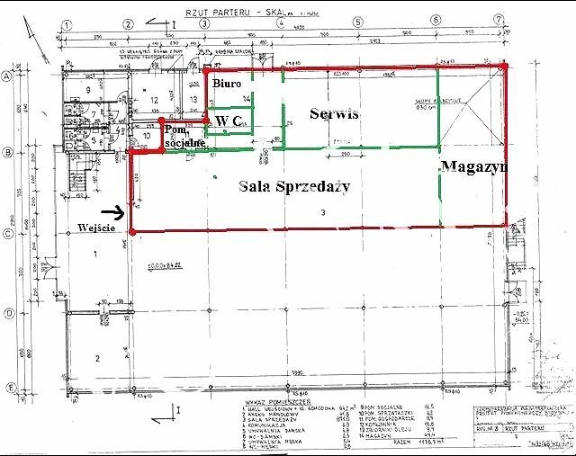 Lokal użytkowy na wynajem Warszawa, Targówek, Targówek, Radzymińska  440m2 Foto 1