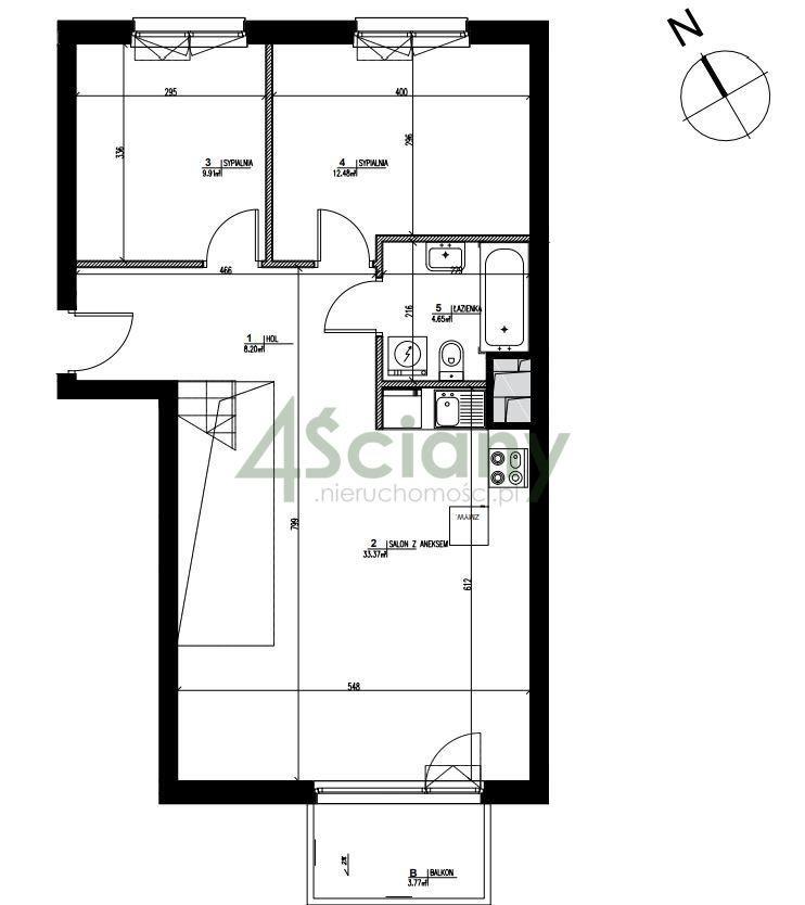 Mieszkanie czteropokojowe  na sprzedaż Konstancin-Jeziorna, Warszawska  120m2 Foto 6