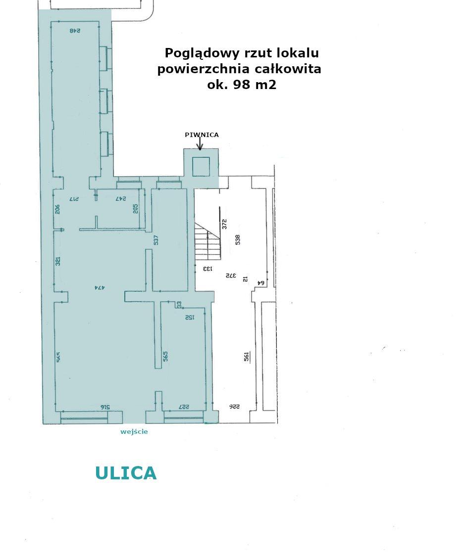 Lokal użytkowy na wynajem Poznań, Centrum, Garbary, Woźna, Wodna, Wielka  130m2 Foto 2