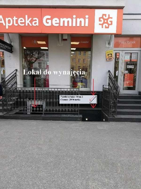 Lokal użytkowy na wynajem polska, Brodnica, Centrum  90m2 Foto 3