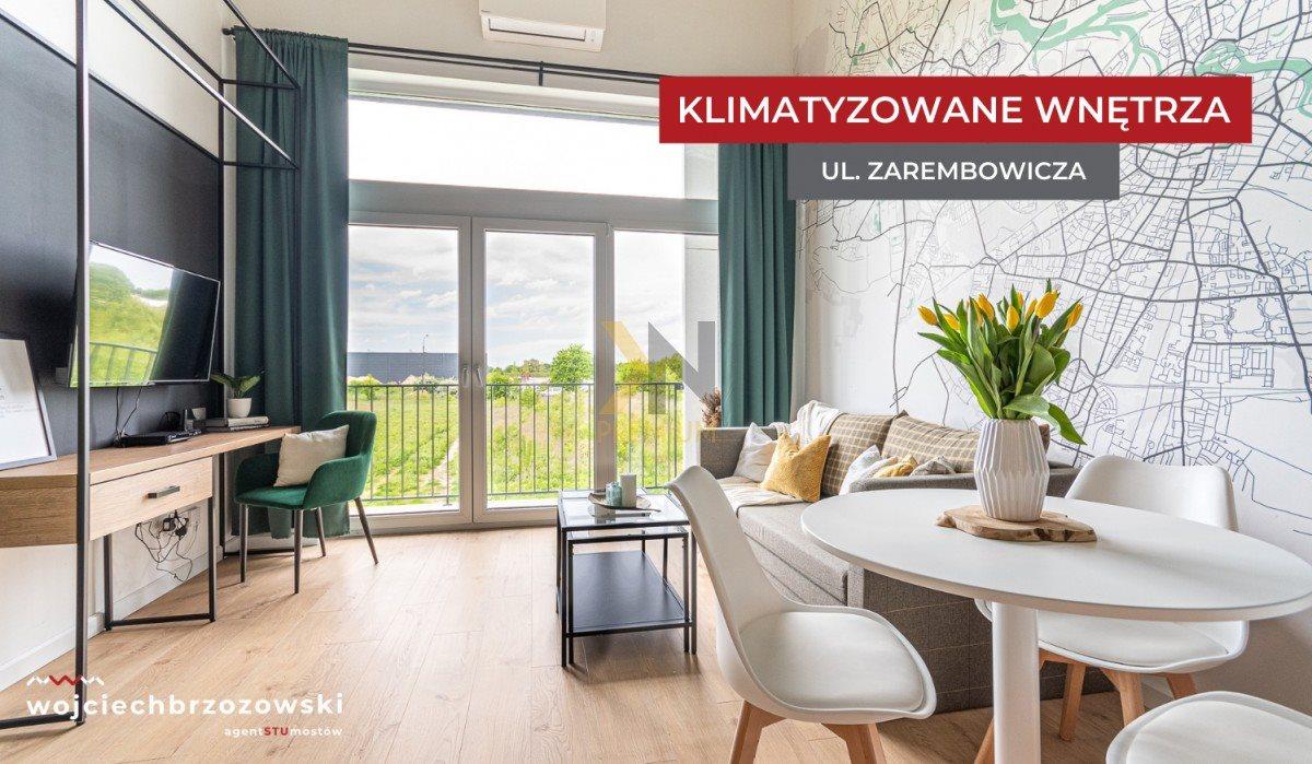 Kawalerka na sprzedaż Wrocław, Strachowice, Władysława Zarembowicza  32m2 Foto 1
