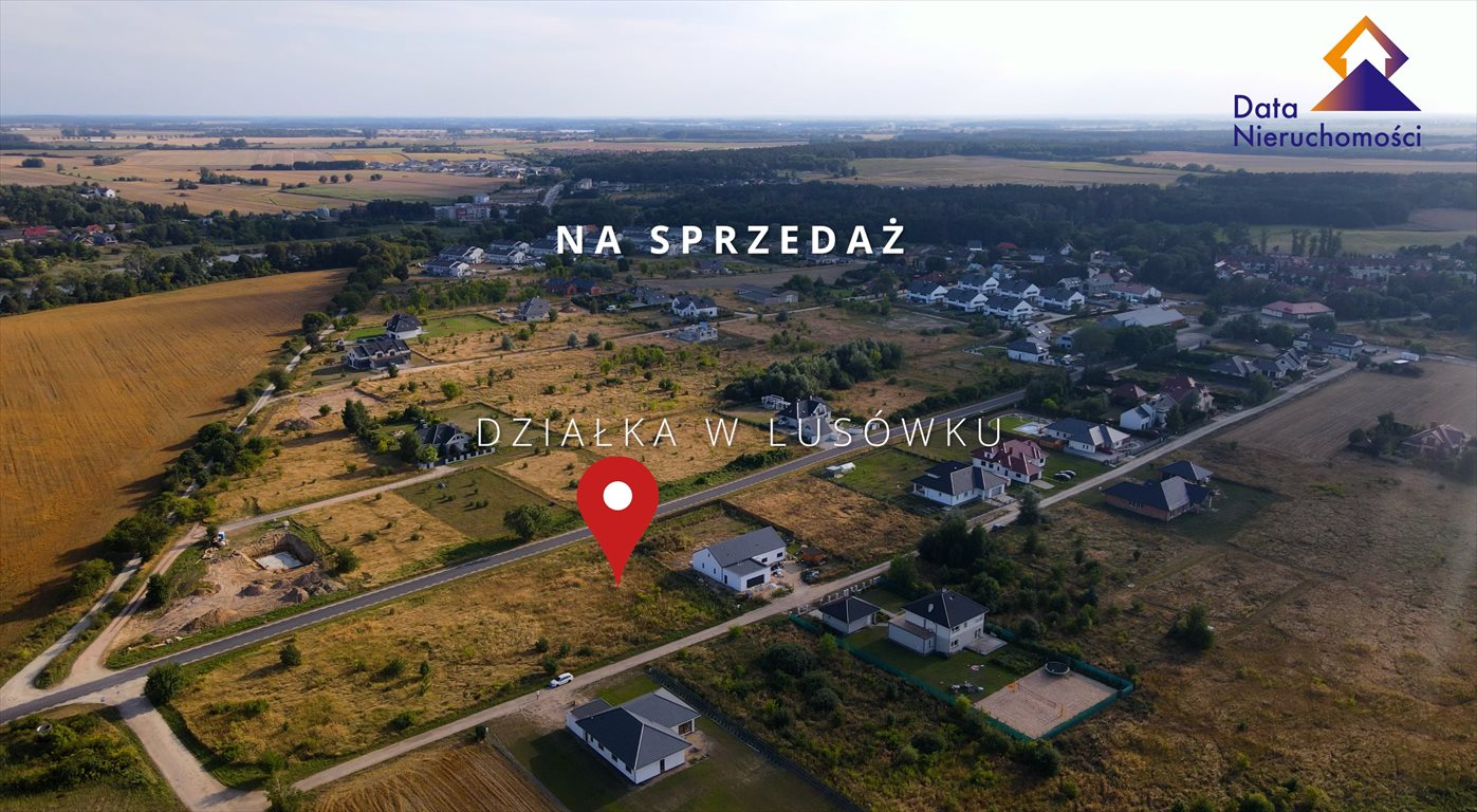 Działka budowlana na sprzedaż Lusówko, Albatrosa  1560m2 Foto 1