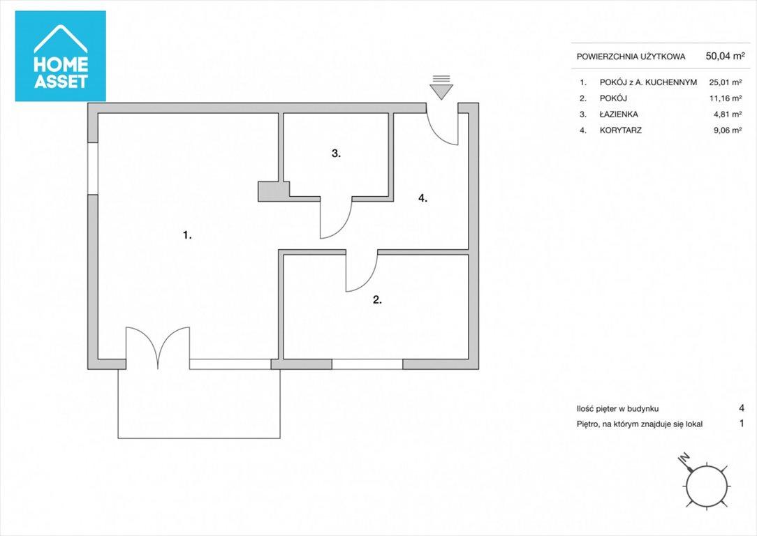 Mieszkanie dwupokojowe na sprzedaż Gdańsk, Kowale, Apollina  50m2 Foto 4