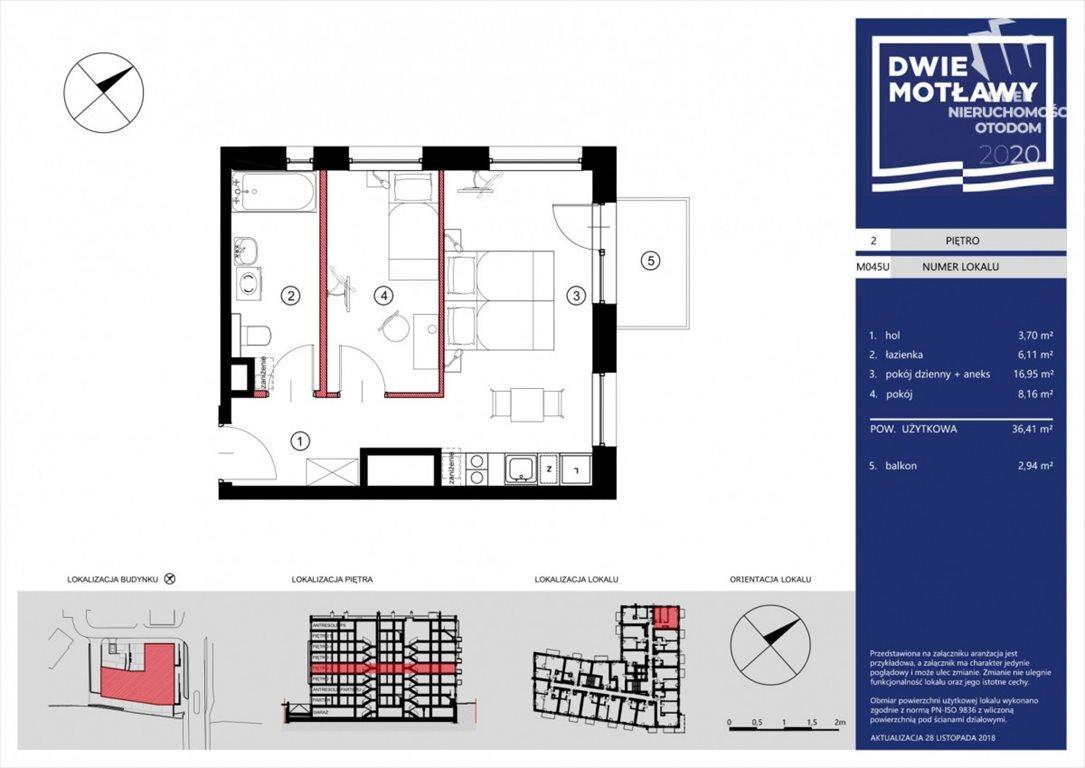 Mieszkanie dwupokojowe na sprzedaż Gdańsk, Śródmieście, Toruńska  37m2 Foto 1