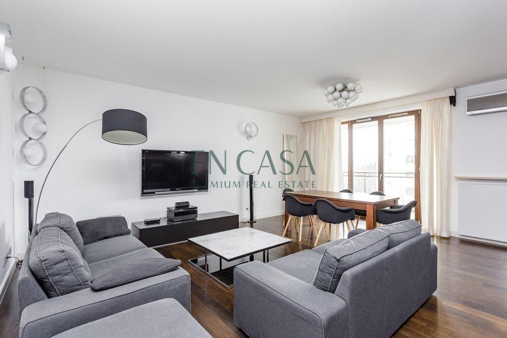 Mieszkanie czteropokojowe  na wynajem Warszawa, Śródmieście, Powiśle, Leona Kruczkowskiego  132m2 Foto 1