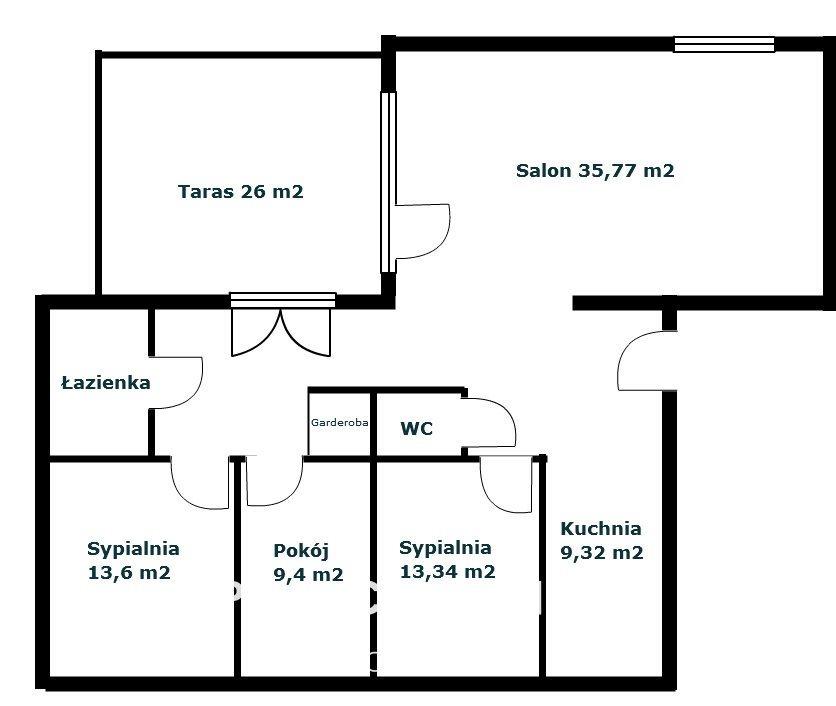 Mieszkanie czteropokojowe  na sprzedaż Bydgoszcz, Górzyskowo  103m2 Foto 9
