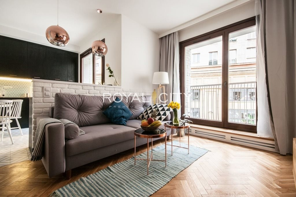 Mieszkanie dwupokojowe na wynajem Warszawa, Śródmieście, Koszykowa  44m2 Foto 2