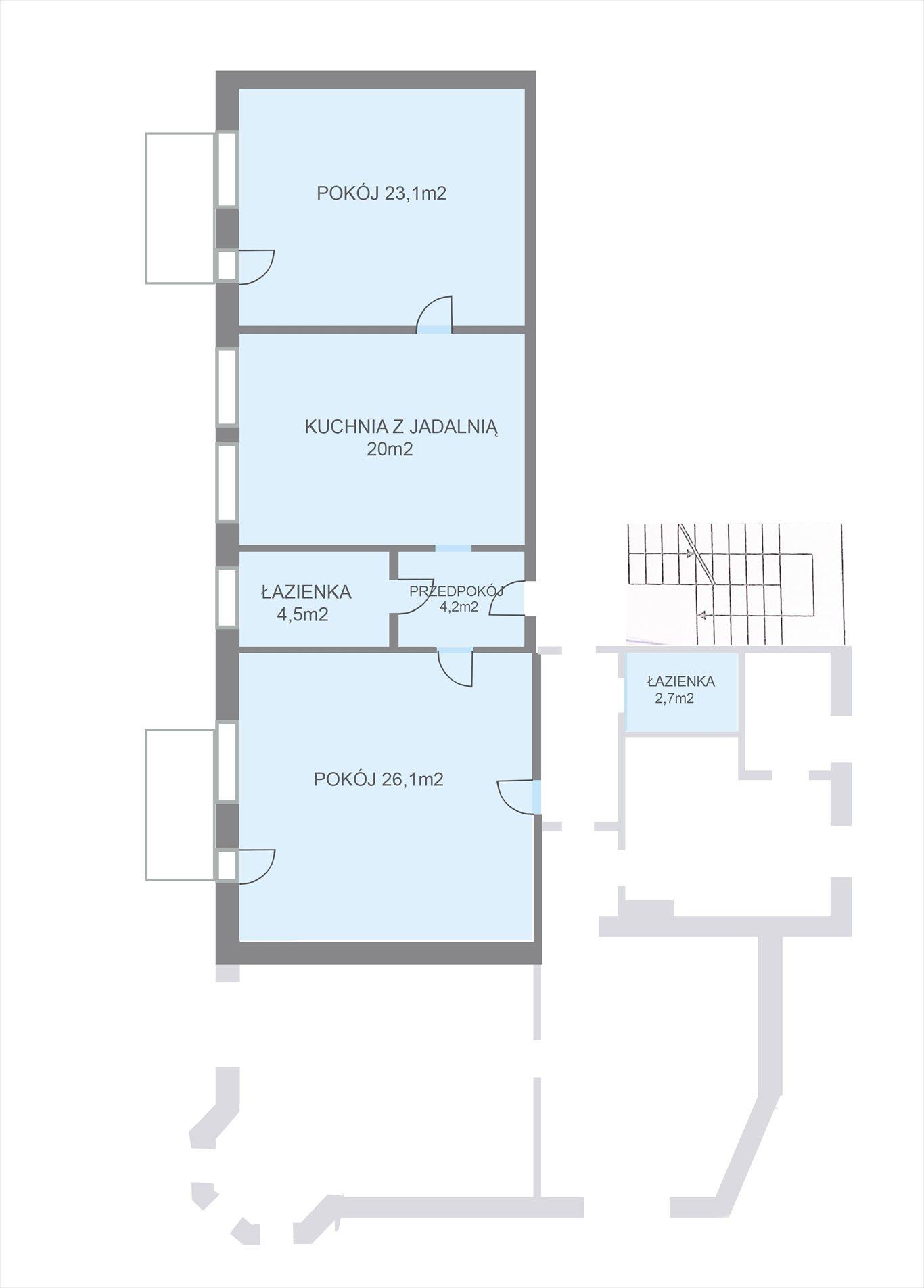Mieszkanie trzypokojowe na sprzedaż Gdańsk, Oliwa, Kaprów 18  80m2 Foto 12