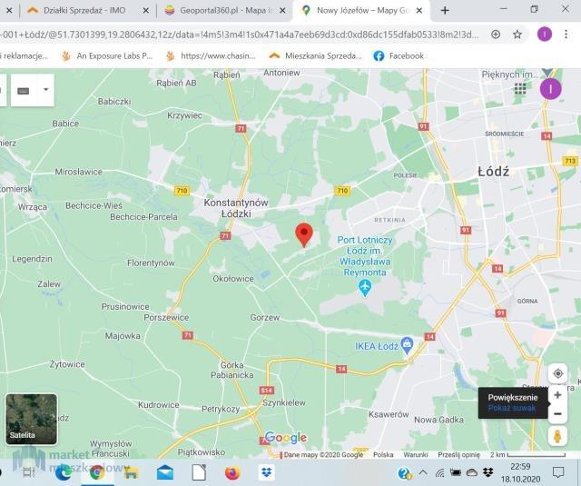 Działka inna na sprzedaż Łódź  14000m2 Foto 1